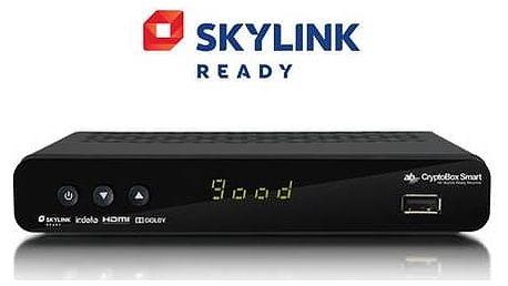 Satelitní přijímač AB Cryptobox Smart HD (ABSMART) černý