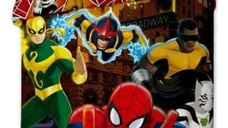 Jerry Fabrics Dětské povlečení SPIDERMAN HERO 140x200, 70x90