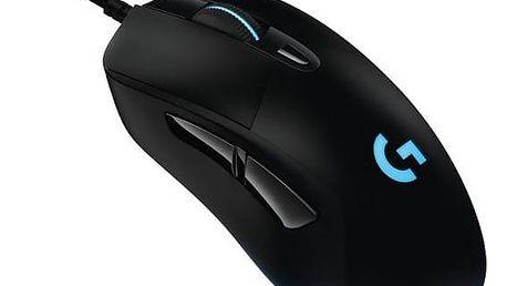 Myš Logitech Gaming G403 Prodigy (910-004824) černá Dárek Logitech – Gillette Fusion Proglide Flexball + Doprava zdarma