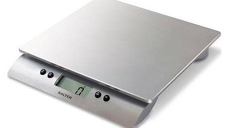 Kuchyňská váha Salter 3013 SSSVDR stříbrná + Navíc sleva 10 % + Doprava zdarma