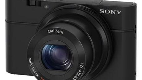 Digitální fotoaparát Sony DSC-RX100 černý + DOPRAVA ZDARMA