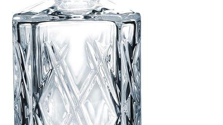 CRYSTAL BOHEMIA Křišťálová karafa Crystal Bohemia Harlequin 0,8 l, čirá barva, sklo