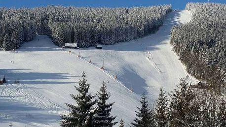 Zimní Parkhotel Harrachov*** přímo u lyžařského areálu s polopenzí a saunou