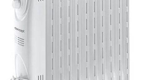 Olejový radiátor Concept RO3211 šedý + Doprava zdarma