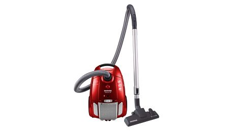 Vysavač podlahový Hoover Télios Plus TE70_TE25011  stříbrný/červený