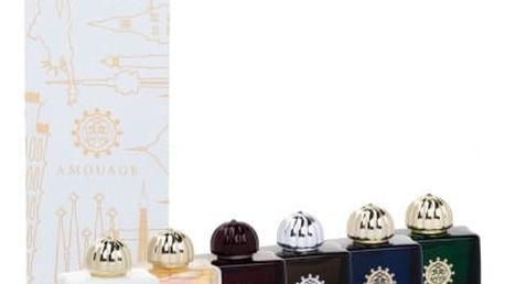 Amouage Mini Set Modern Collection dárková kazeta pro ženy 6x 7,5 ml edp Lyric + Epic + Memoir + Honour + Interlude + Fate