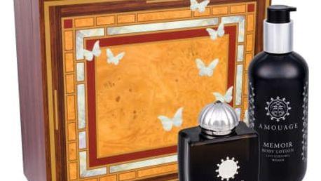 Amouage Memoir Woman dárková kazeta pro ženy parfémovaná voda 100 ml + tělové mléko 300 ml