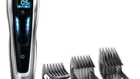 Zastřihovač vlasů Philips Hairclipper series 9000 HC9450/15 černý + Navíc sleva 10 % + Doprava zdarma