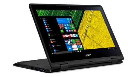 Notebook Acer Spin 1 (SP111-31-C5ZR) (NX.GMBEC.001) černý + DOPRAVA ZDARMA