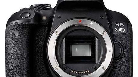 Digitální fotoaparát Canon 800D (1895C001AA) černý + DOPRAVA ZDARMA