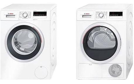 Set výrobků Bosch WAN28260CS + WTH85207CS + Navíc sleva 10 % + Doprava zdarma