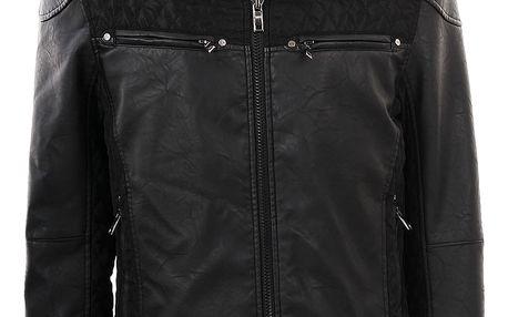 Pánská bunda Leior černá