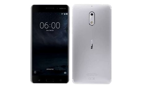 Mobilní telefon Nokia 6 Single SIM (11PLES01A10) stříbrný + Doprava zdarma