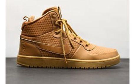 Pánská Zimní obuv Nike COURT BOROUGH MID WINTER | AA0547-700 | Béžová, Hnědá | 41