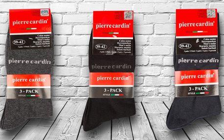 9 párů bavlněných ponožek Pierre Cardin