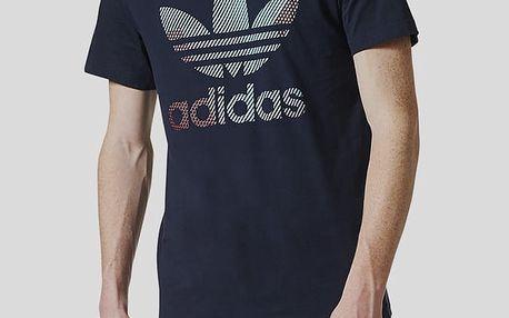 Tričko adidas Originals TREFOIL 1 Modrá