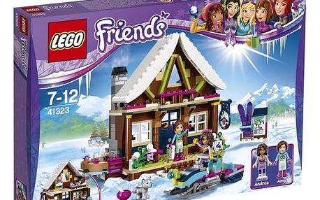 Stavebnice LEGO® FRIENDS 41323 Chata v zimním středisku + Doprava zdarma