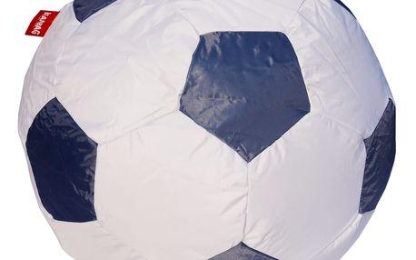 Sedací vak fotbalový míč 90 cm - gray