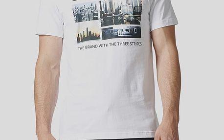 Tričko adidas Originals PHOTO 1 Bílá