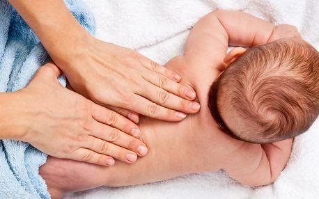 5týdenní kurz masáží miminek