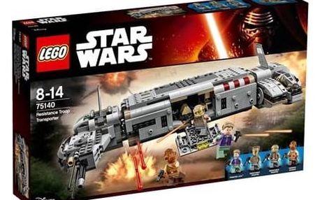 Stavebnice LEGO® Star Wars TM 75140 Vojenský transport Odporu + Doprava zdarma