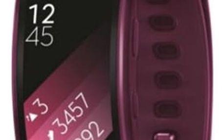 Fitness náramek Samsung Gear Fit2 vel. S (SM-R3600ZINXEZ) růžový + DOPRAVA ZDARMA
