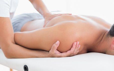 Zdravotní masáž zad a šíje v délce 60 minut