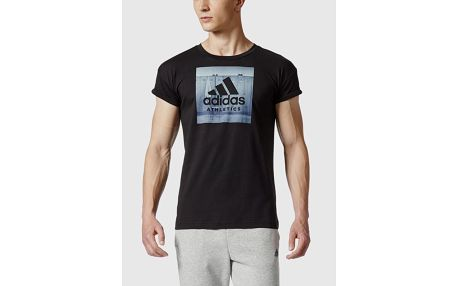 Tričko adidas Performance CATEGORY ATH M Černá