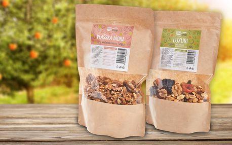 Vlašské ořechy, luxuri směs nebo lískooříšková mouka