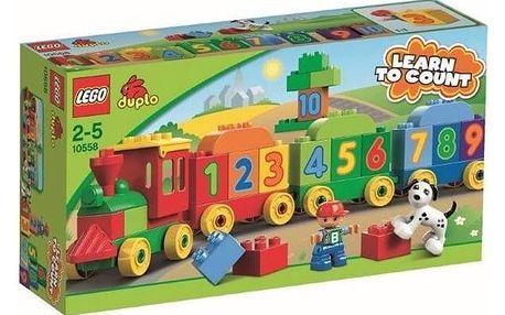 Stavebnice LEGO® DUPLO 10558 Vláček plný čísel