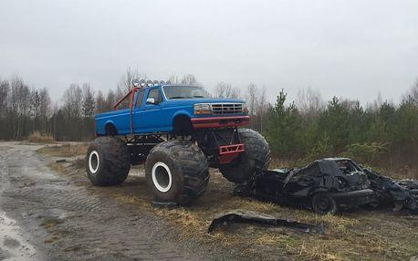 25 minut jízdy v Hummer Monster Truck HX na tankodromu Milovice