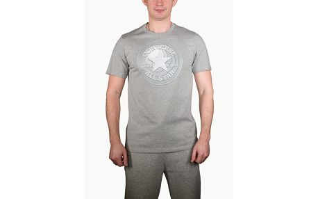 Tričko Converse Dimensional Layer Chuckpatch Tee Šedá