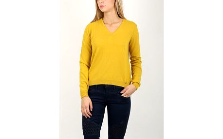 Svetr Replay DK1508 Knitwear Žlutá