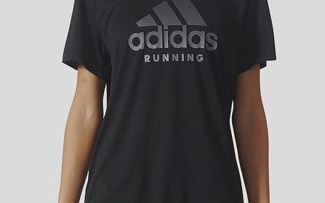 Tričko adidas Performance CATEGORY LOGO W Černá