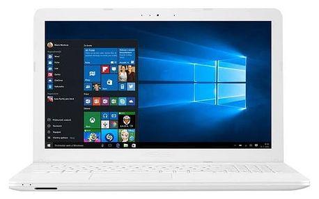 Notebook Asus X541NA-DM512T (X541NA-DM512T) bílý + Doprava zdarma