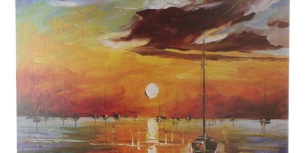 Obraz na stěnu - Loď na moři