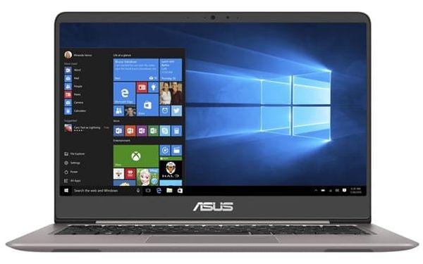 Notebook Asus UX410UA-GV035T (UX410UA-GV035T) šedý Software Microsoft Office 365 pro jednotlivce CZ + Software F-Secure SAFE, 3 zařízení / 6 měsíců + Monitorovací software Pinya Guard - licence na 6 měsíců v hodnotě 2 278 Kč + DOPRAVA ZDARMA
