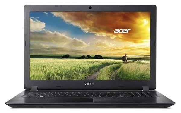 Notebook Acer 3 (A315-31-P672) (NX.GNTEC.012) černý Software Microsoft Office 365 pro jednotlivce CZ + Software F-Secure SAFE, 3 zařízení / 6 měsíců + Monitorovací software Pinya Guard - licence na 6 měsíců v hodnotě 2 278 Kč + DOPRAVA ZDARMA