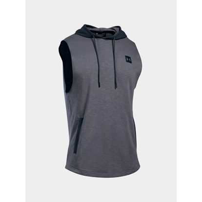 Tričko Under Armour Sportstyle Sleeveless Hoodie Šedá