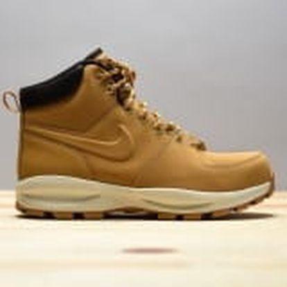 Pánská zimní obuv Nike MANOA LEATHER | 454350-700 | Béžová | 41