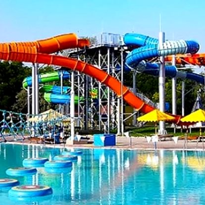 8 dní v termálních lázních Vadaš na Slovensku pro 2 osoby s neomezeným vstupem do všech bazénů.