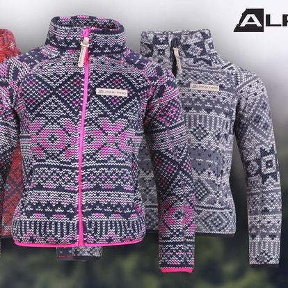 Dětské vzorované mikiny Alpine Pro