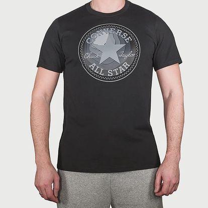 Tričko Converse Dimensional Layer Chuckpatch Tee Černá