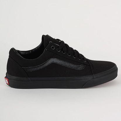 Boty Vans U Old Skool Black/Black Černá