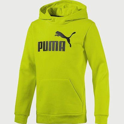 Mikina Puma ESS No.1 Hoody, FL Žlutá
