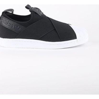 Boty adidas Originals SUPERSTAR SlipOn Černá