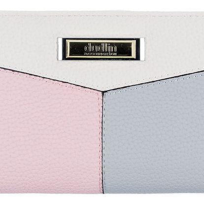 Dudlin Dámská peněženka velká s organizéry v dárkové krabičce