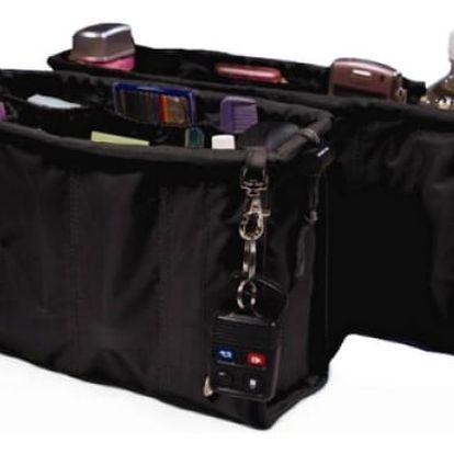 2 x Organizér do kabelky v černé barvě!