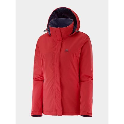 Bunda Salomon ELEMENTAL INSULATED JKT W INFRARED Červená