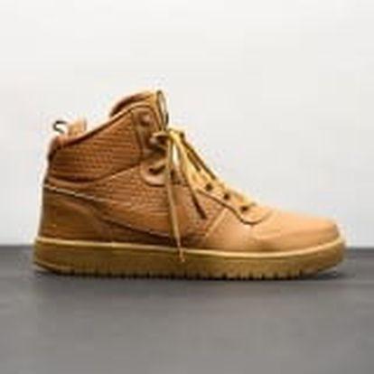 Pánská Zimní obuv Nike COURT BOROUGH MID WINTER | AA0547-700 | Hnědá, Béžová | 45,5